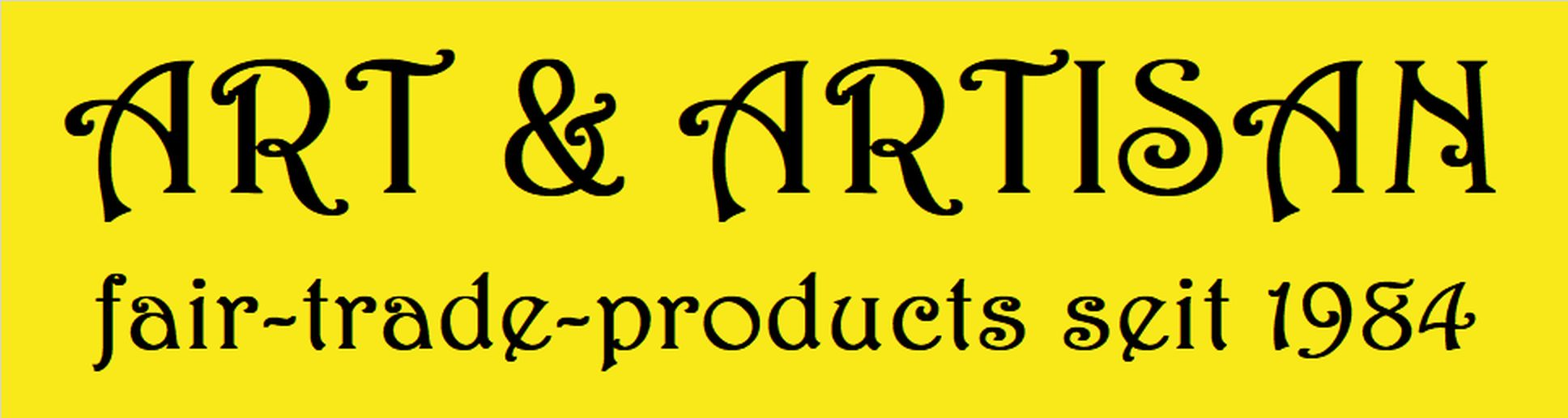 ART & ARTISAN fair-trade-products